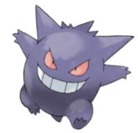 Gengar pokemon1