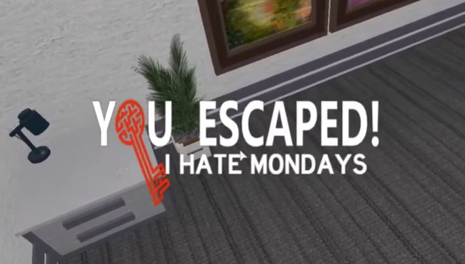 How to Beat Roblox Escape Room I Hate Mondays