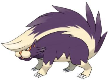 Skuntank Pokemon GO Best Moveset