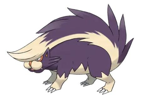 Skuntank Pokémon GO Weakness1