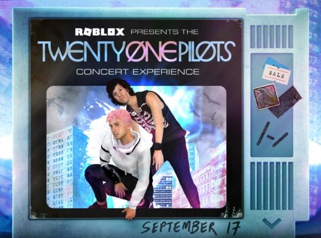 Twenty One Pilots Roblox Concert Time 2021