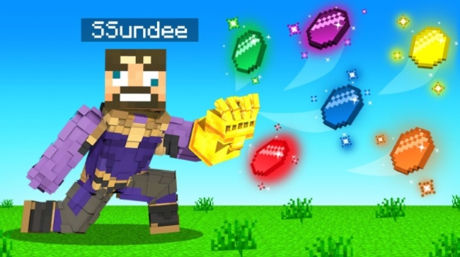 What Infinity Gauntlet Mod Does Ssundee Use