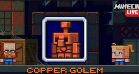 About Copper Golem Minecraft