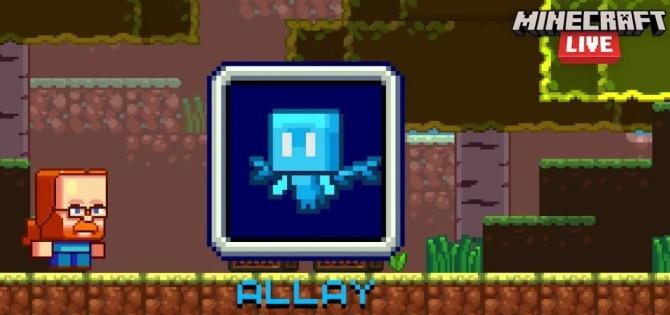 Allay Mob Minecraft