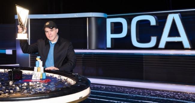 Cary Katz Playing Poker