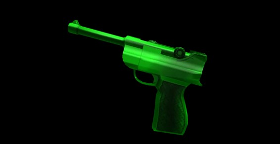 Green Luger MM2
