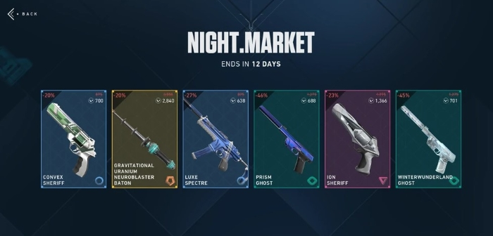 How Does the Night Market Work in Valorant