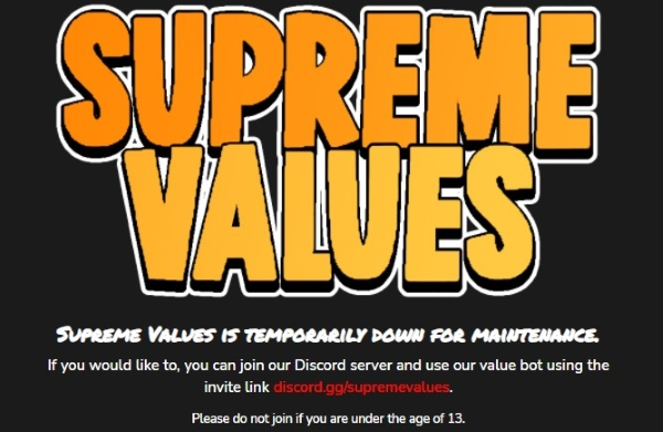 How to Access Supreme Values Even if It's Shut Down