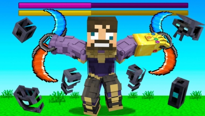 How to Defeat OP Infinity Armor in Insane Craft