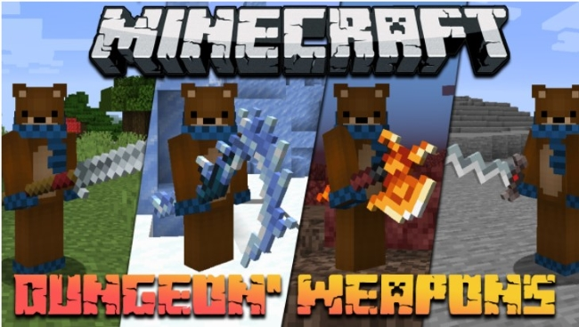 How to Get Modded Weapons in Minecraft Dungeons