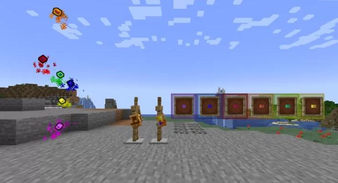 Infinity Stones Mod PE 1.17 (Infinity Gauntlet)