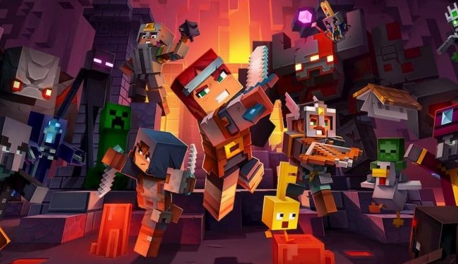 Minecraft Dungeons Review Switch and Metacritic