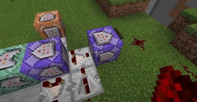 Minecraft Infinity Gauntlet Command Block