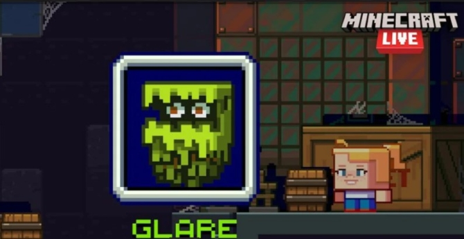 The Glare in minecraft