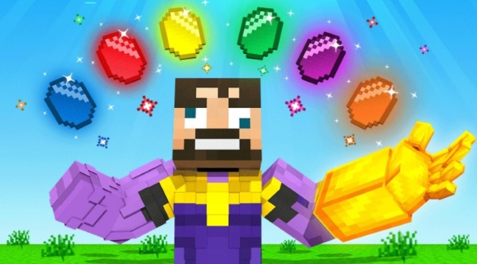 The Most Powerful Thanos Items in Minecraft (Insane Craft)