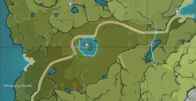 The fifth Charm route map