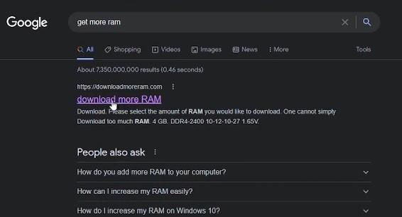 get more RAM