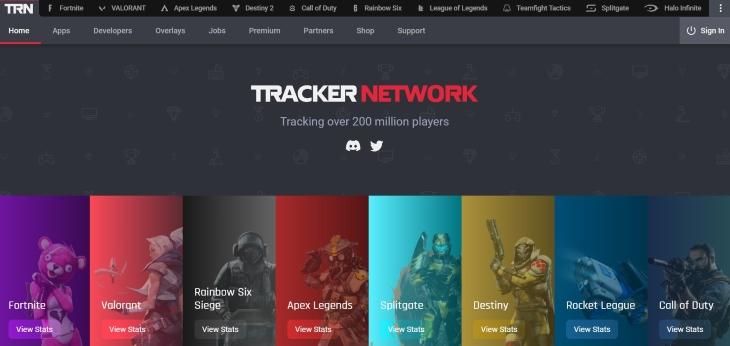 go to official websiteTracker Network