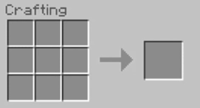open the 3x3 crafting table in the Crafting Menu