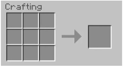 open the 3x3 crafting table