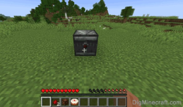 use an observer block in Minecraft